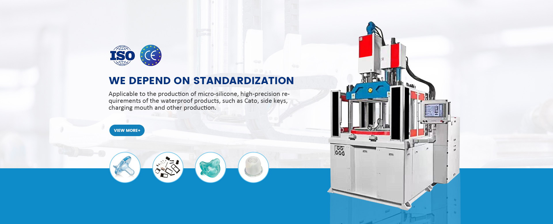 Solid Injection Molding Machine